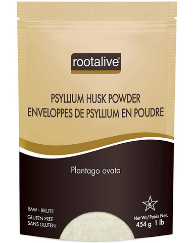 Rootalive Psyllium Husk Powder Psyllium is an excellent way to introduce more fibre into your diet due to its high fibre count in comparison to other grains. Psyllium husk powder is commonly used to help improve digestion and treat constipation or diarrhea. It is often the main ingredient in high fibre cereals, dietary fibre supplements and over-the-counter laxatives.