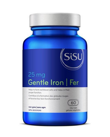 Iron is a factor in the maintenance of good health; it helps to form red blood cells and helps in their proper function.
