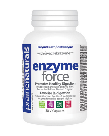 Enzyme-Force does more than treat the symptoms; it helps to correct one of the underlying causes of indigestion – poor enzyme activity! These plant-based enzymes help support and maintain a healthy digestive system by breaking down all the food groups more thoroughly.