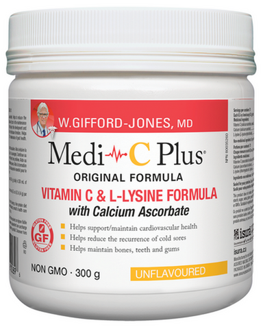 "W. Gifford-Jones, MD MEDI-C PLUS Helps to produce collagen, dissolve cholesterol deposits, reduce the risk of cardiovascular disease, increase blood flow to coronary arteries and prevent the formation of free radical cells.* Every moment of the day our bodies are using oxygen to keep us alive. But oxidation results in metabolic ash, referred to as ""free radicals"", which are believed to trigger a natural ""inflammatory reaction"" in joints."