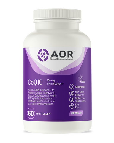 CoQ10 stands for Coenzyme Q10, a natural antioxidant synthesized by our bodies. This fat-soluble, vitamin-like nutrient is essential to several bodily functions and is required by every single cell in the body. The body's ability to produce and metabolize CoQ10 has been reported to decrease with age. CoQ10 deficiency may be caused by insufficient dietary intake of CoQ10, impairment in CoQ10 biosynthesis, as well as excessive utilization of CoQ10 by the body to protect against compromised genes.