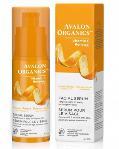 Avalon Organics unique combination of antioxidant-rich Vitamin C, Lemon Bioflavonoids and White Tea help to reactivate cellular renewal and promote collagen and elastin production while evening skin tone. As you soothe oxidative stress, you help fight the visible signs of photo-aging, resulting in smoother, softer skin with improved tine.
