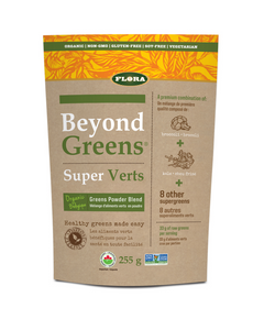 Beyond Greens® provides the foundation for optimum nutrition with the best that nature has to offer including organically grown cereal grasses including barley, alfalfa, oat and rye.