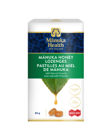 Manuka Health Manuka Honey Lozenges with Natural Propolis.