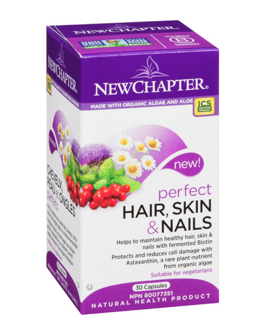 Builds healthy hair and strong nails with fermented Biotin and delivers Astaxanthin, a rare whole-food plant-nutrient clinically proven to maintain your youthful appearance.