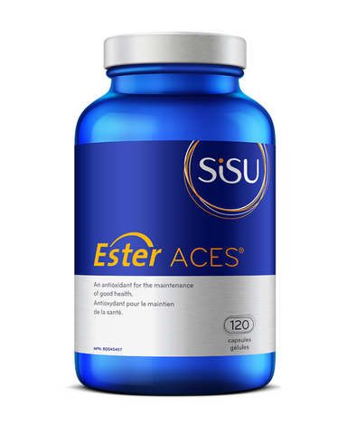 Excess oxidation in your body generates free radicals that are linked to age-related degenerative conditions such as vision problems, heart disease, diabetes, osteoporosis and Alzheimer's disease. Ester Aces® combines the most powerful vitamin and mineral antioxidants (Ester-C® vitamin C, beta carotene, vitamin E, and selenium) to support your immune system and protect against oxidative stress.