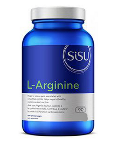 High-potency Sisu L-Arginine supports circulatory and cardiovascular health and may be useful for erectile dysfunction, intermittent claudication (blood clots that cause leg pain), reducing pain of interstitial cystitis and increasing lean body mass in athletes. Sourced from the pure, vegan L-arginine amino acid, this supplement is formulated in an easy-to-swallow tablet with a smooth coating.