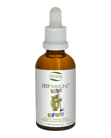 This simplified version of our Deep Immune formula is tailored to the needs of children and consists of key adaptogenic herbs to balance the immune system and help prevent immune illnesses.