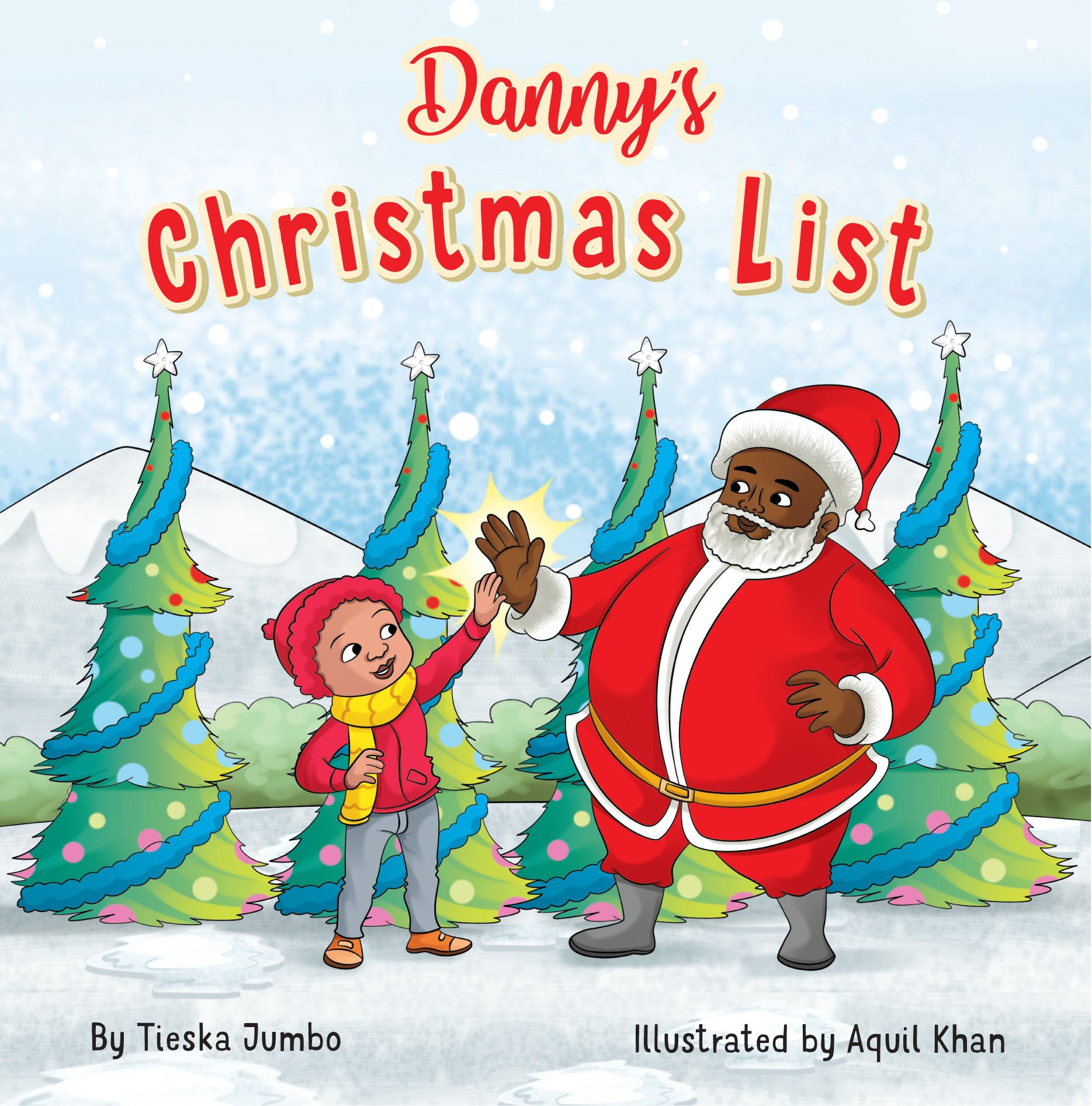 Danny's Christmas List Book and Ornament Bundle