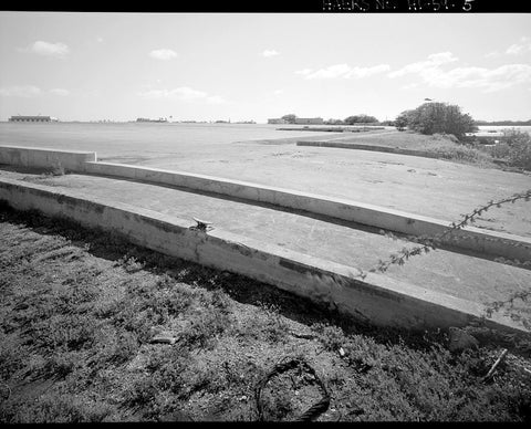 U.S. Naval Base, Pearl Harbor, Seaplane Ramps - World War II Type, Southwest and west shore of Ford Island, near Wasp Boulevard, Pearl City, Honolulu County, HI 1