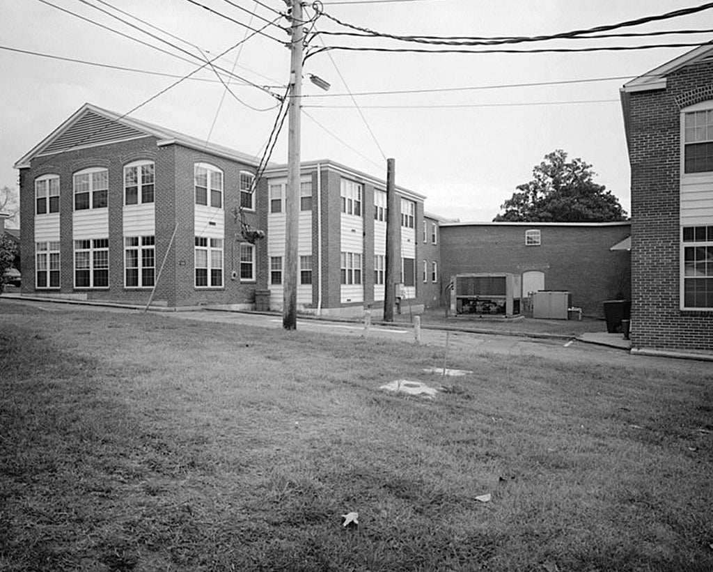Historic Photo : Fort McPherson, World War II Station Hospital, Hospital Wards, Anderson Way & Howe Street, Atlanta, Fulton County, GA 1 Photograph