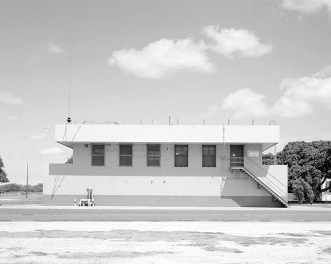 Historic Photo : Naval Air Station Barbers Point, World War II Command Center, Midway Street east of Lexington Avenue, Ewa, Honolulu County, HI 1 Photograph