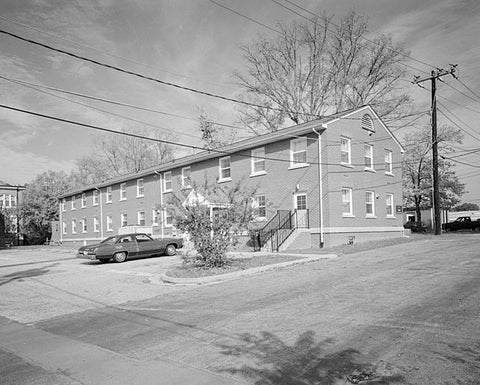 Historic Photo : Fort McPherson, World War II Station Hospital, Nurses' Quarters, Anderson Way & Howe Street, Atlanta, Fulton County, GA 4 Photograph