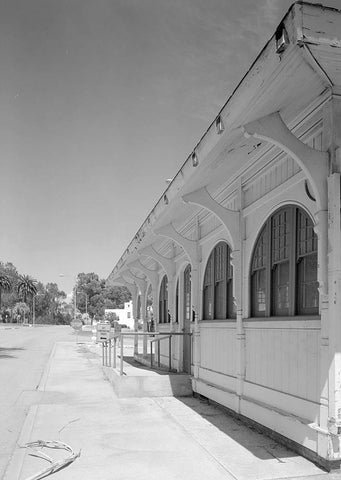 National Home for Disabled Volunteer Soldiers, Pacific Branch, Trolley Stop, 11301 Wilshire Boulevard, West Los Angeles, Los Angeles County, CA 2