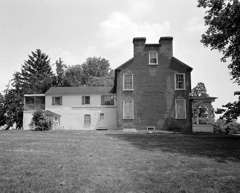 McCrone House, Rear Ell, New Castle Hundred, 1 mile South of intersection of U.S. Route 13 & Route 40, west of Route 13, New Castle, New Castle County, DE 2