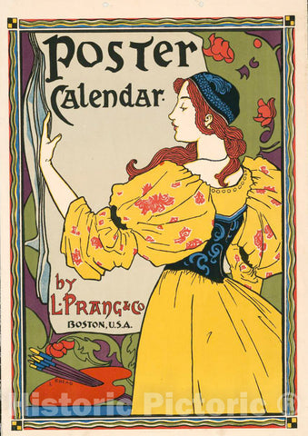 Test Poster -  Poster Calendar by L. Prang & Co, Historic Wall Art
