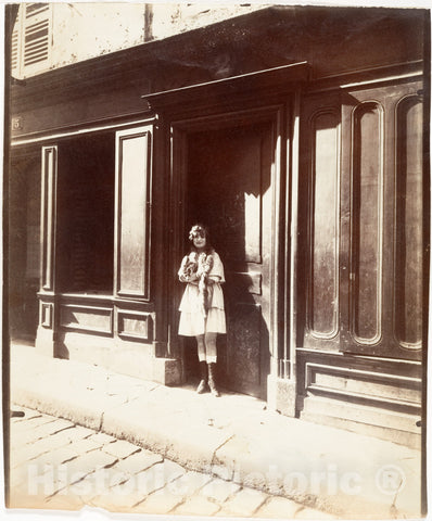 Photo Print : Eugène Atget - Maison Close, Versailles : Vintage Wall Art