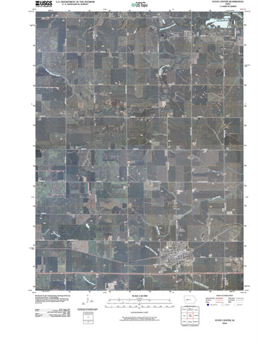 2010 State Center, IA - Iowa - USGS Topographic Map