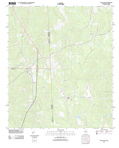 2012 State Line, MS - Mississippi - USGS Topographic Map
