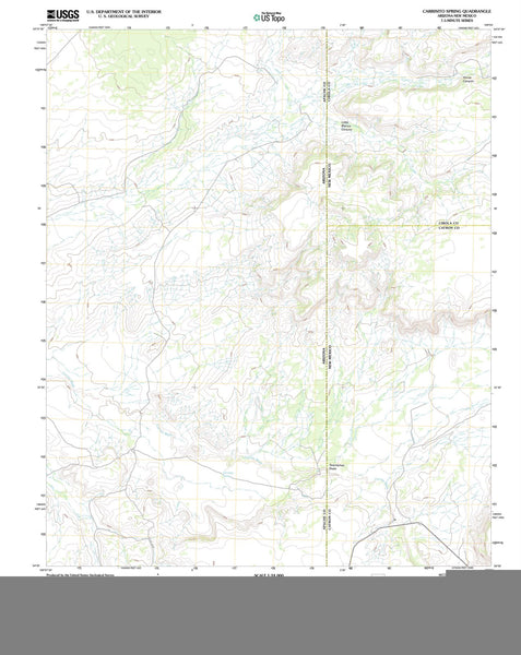 2011 Carrisito Spring, AZ - Arizona - USGS Topographic Map
