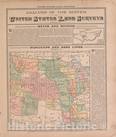 Historic 1893 Map - Plat Book of McDonough County, Illinois - Map of The United States
