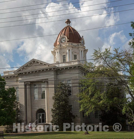 Photo- The Lee County Courthouse in Tupelo Mississippi 2 Fine Art Photo Reproduction