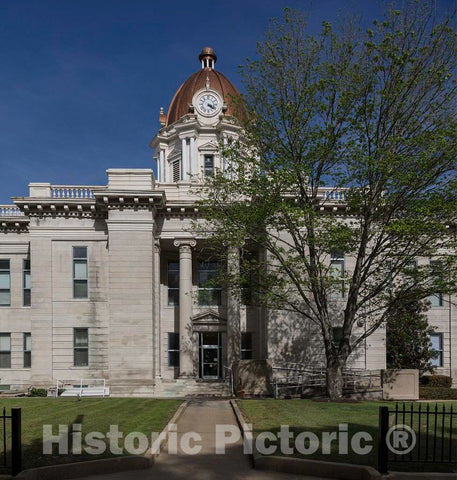 Photo- The Lee County Courthouse in Tupelo Mississippi 1 Fine Art Photo Reproduction