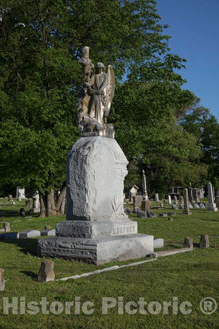 Photo - Heavenly Rest Cemetery in Clarksdale, Mississippi- Fine Art Photo Reporduction