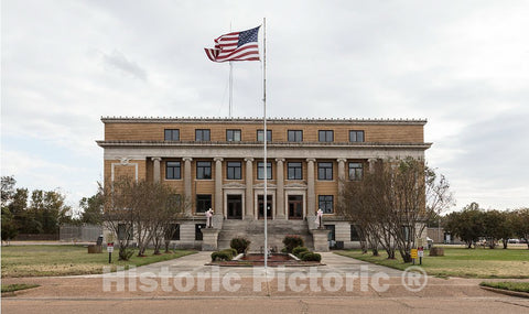 Photo- The Humphreys County Courthouse in Belzoni, Mississippi 2 Fine Art Photo Reproduction