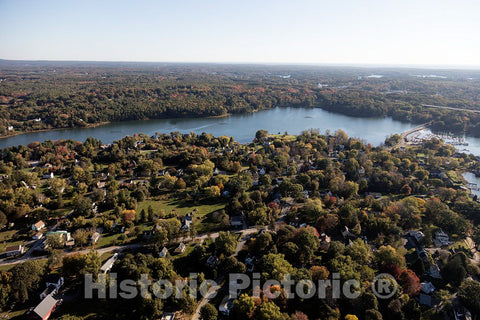 Photo - Aerial view of Portsmouth, New Hampshire- Fine Art Photo Reporduction