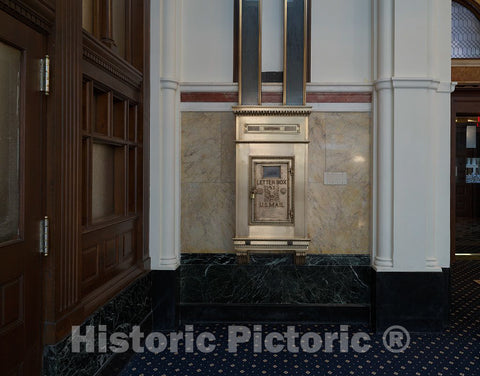 Photo - Mailbox. The Old Post Office and Clock Tower, Washington, D.C.- Fine Art Photo Reporduction