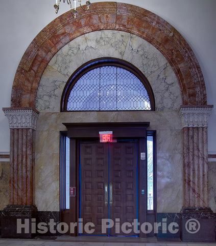 Photo - Door. The Old Post Office and Clock Tower, Washington, D.C.- Fine Art Photo Reporduction