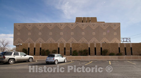 Photo- Joe Skeen Federal Building and U.S. Courthouse, Roswell, New Mexico 5 Fine Art Photo Reproduction