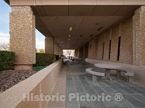 Photo- Joe Skeen Federal Building and U.S. Courthouse, Roswell, New Mexico 6 Fine Art Photo Reproduction
