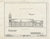 Historic Pictoric : Blueprint HABS Mont,41-STEV,1- (Sheet 5 of 15) - St. Mary's Mission (Roman Catholic), Stevensville, Ravalli County, MT