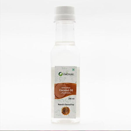 Natural & Cold-Pressed Extra Virgin Coconut Oil
