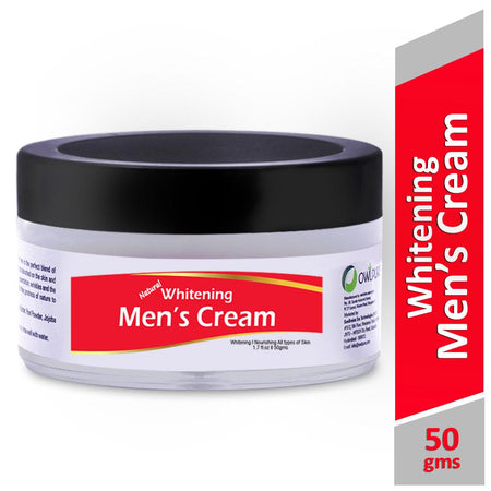 Natural, Handmade & Organic Whitening Cream For Men