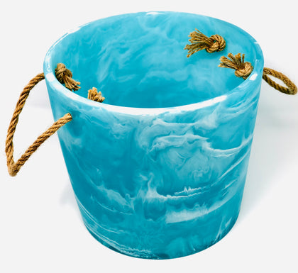 Ice Bucket Aqua Swirl