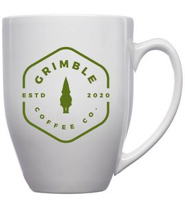 GRIMBLE COFFEE BRANDED 16oz MUG