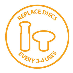Black Replacement Discs - For All Over Body & Feet