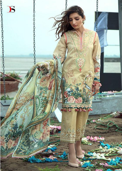 FIRDOUS DIGITAL PRINT (Unstitched) II FD-02