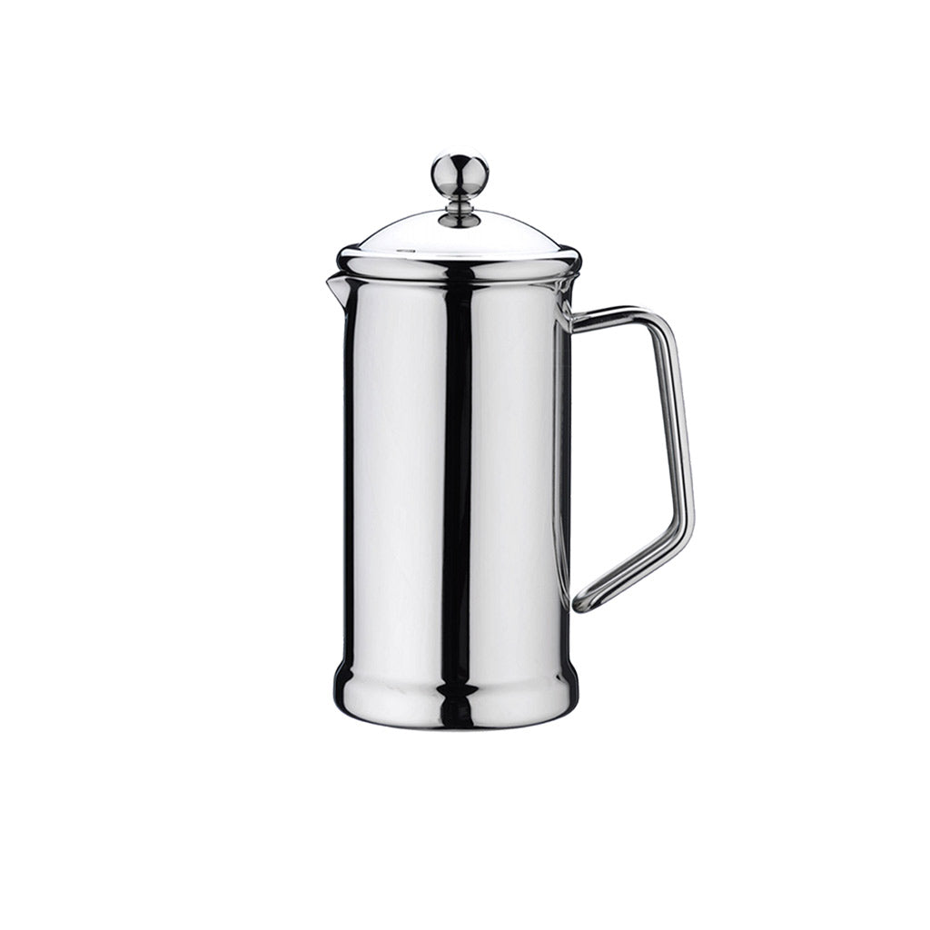 CAFE STAL: MIRROR FINISH STAINLESS STEEL CAFETIERE (6 CUP)