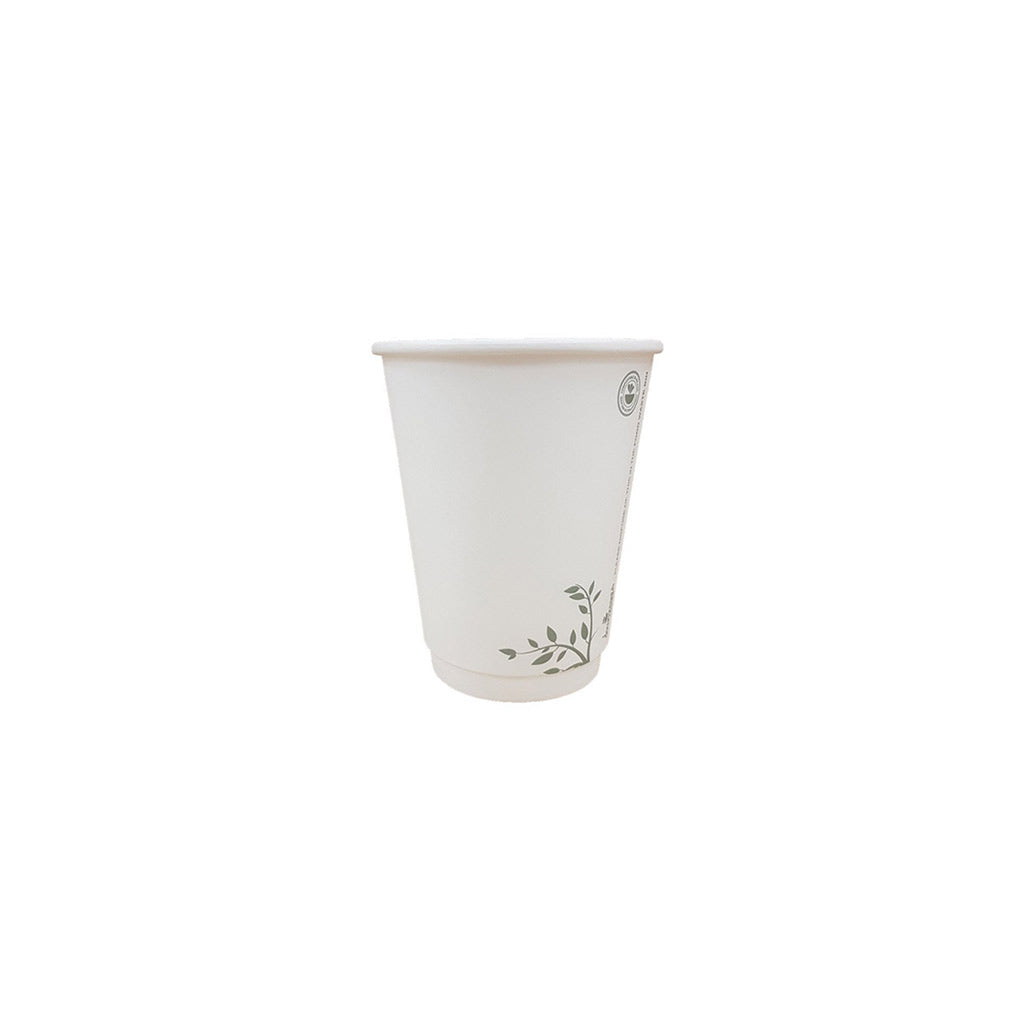 6oz White Single Wall Compostable Cups (1000)
