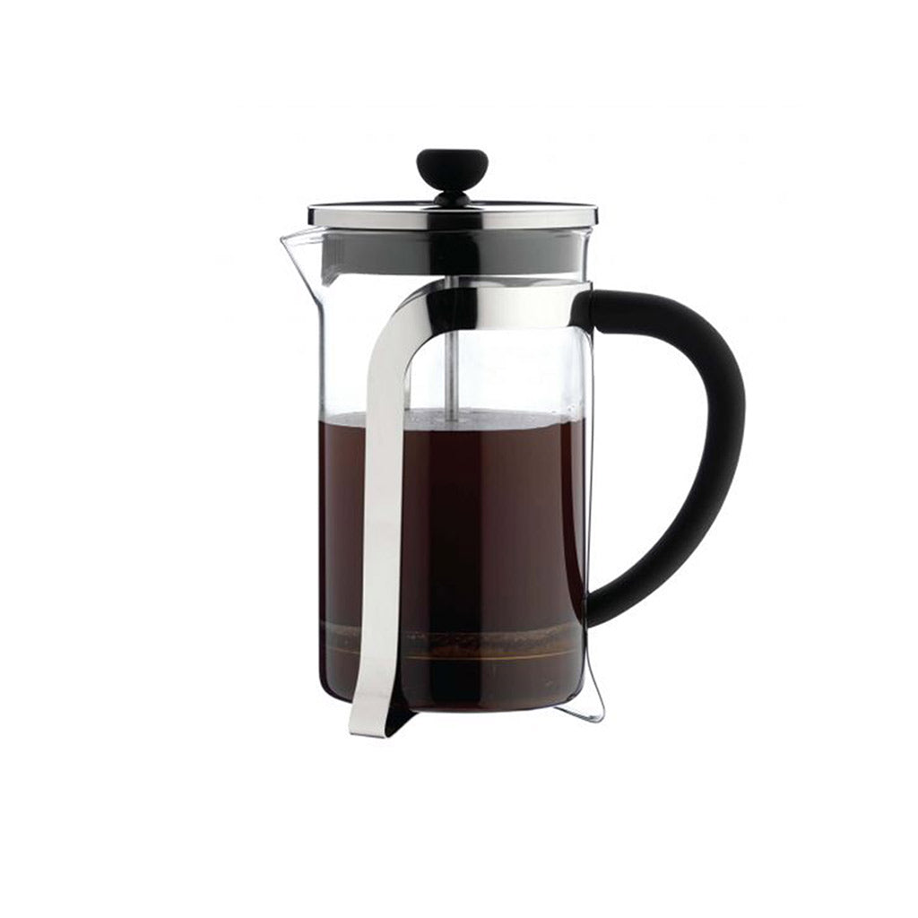 8 Cup Glass And Chrome Cafetiere Cafe Ole