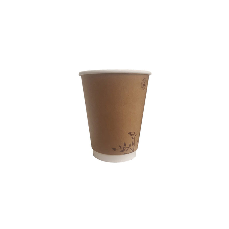Compostable Cups 8oz Brown Cups