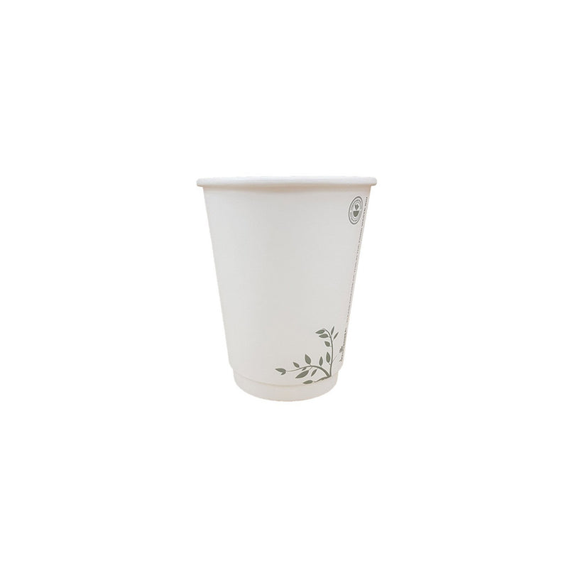 Compostable Cups 8oz White Cups