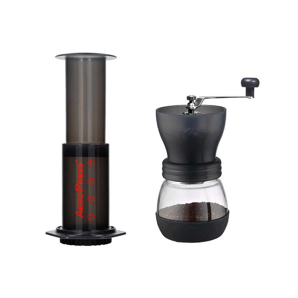 Aeropress and Grinder Combo