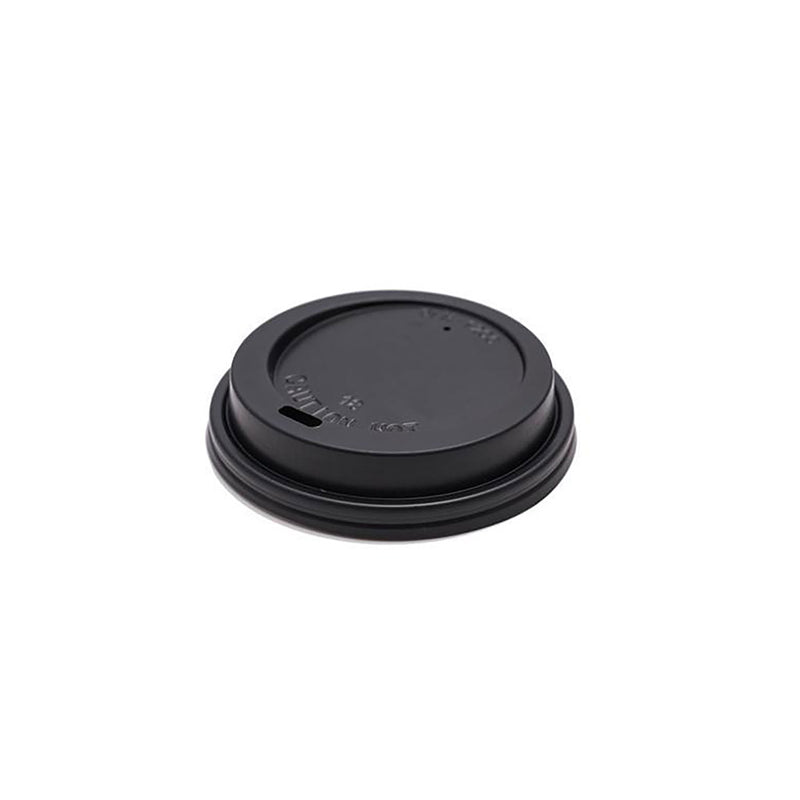 12/16oz Black Lids Plastic
