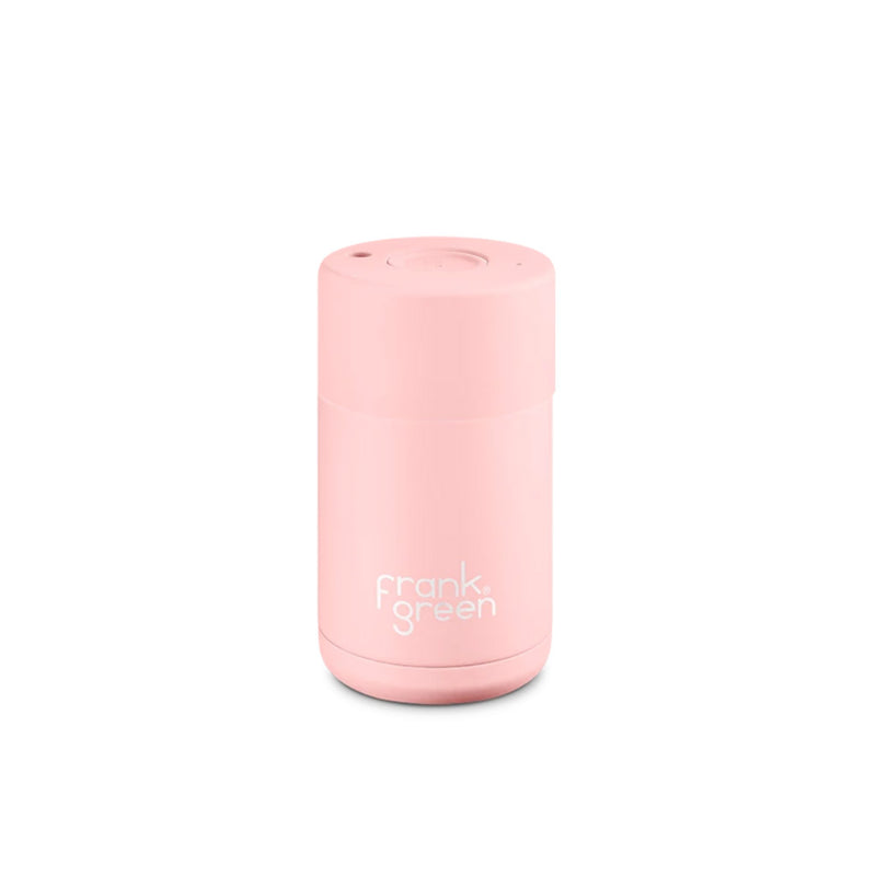 Frank Green Cup Blushed Pink Ceramic Stainless Steel Cup 295ml