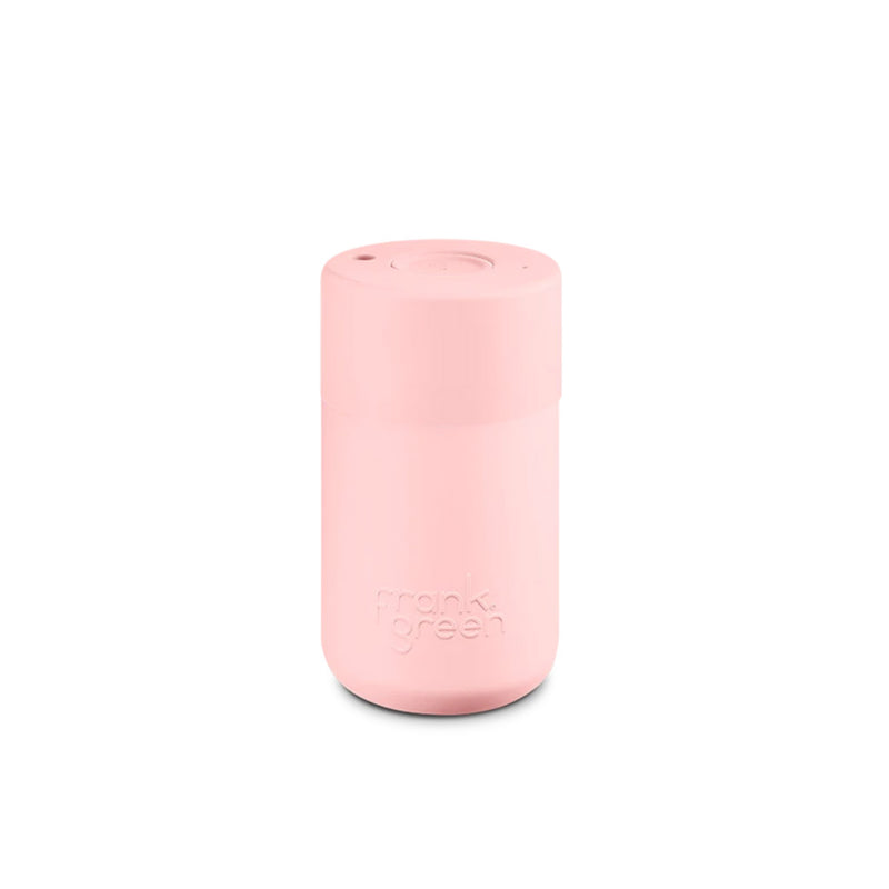 Frank Green Blushed Pink Reusable Cup 340ml
